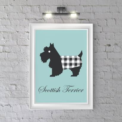Plakat Scottish Terrier