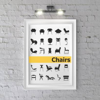 Plakat Chairs