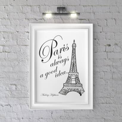 Plakat Paris is always a good idea