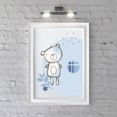 Plakat Pop Art Bear