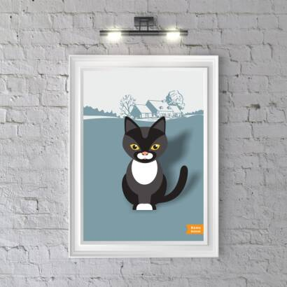 Plakat Home Animals Cat
