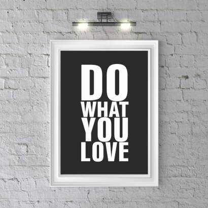Plakat DO WHAT YOU LOVE