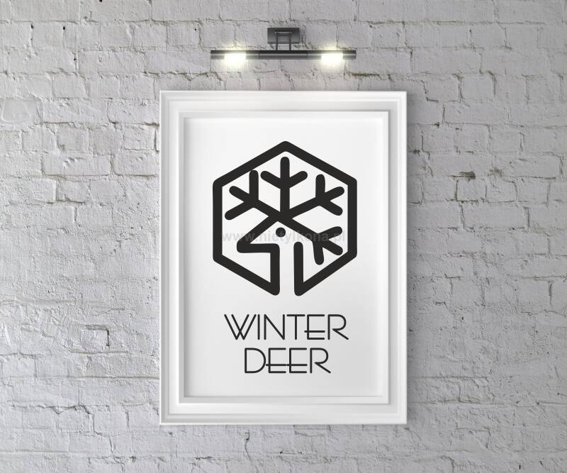 Plakat Winter Deer