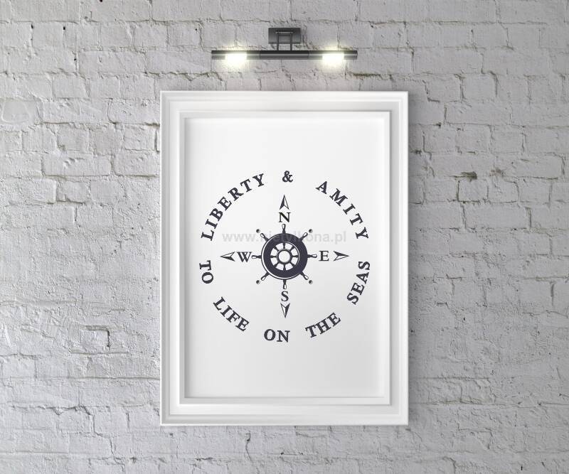 Plakat Liberty & Amity To life on the seas A