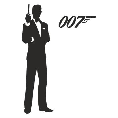 Naklejka James Bond